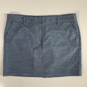 Tommy Hilfiger Chambray Mini Skirt Size 14